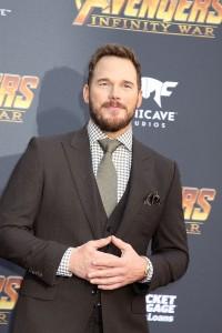 Chris Pratt at the World Premiere of Marvel Studios AVENGERS: INFINITY WAR