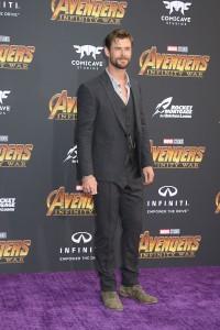 Chris Hemsworth at the World Premiere of Marvel Studios AVENGERS: INFINITY WAR