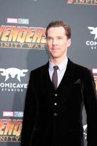Benedict Cumberbatch at the World Premiere of Marvel Studios AVENGERS: INFINITY WAR