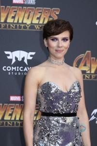 Scarlett Johansson at the World Premiere of Marvel Studios AVENGERS: INFINITY WAR