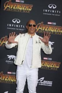 Vin Diesel at the World Premiere of Marvel Studios AVENGERS: INFINITY WAR