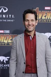 Paul Rudd at the World Premiere of Marvel Studios AVENGERS: INFINITY WAR