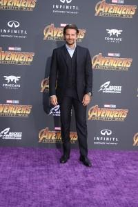 Bradley Cooper at the World Premiere of Marvel Studios AVENGERS: INFINITY WAR