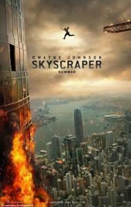 SKYSCRAPER movie poster | ©2018 Universal Pictures