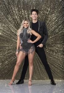 Witney Carson and Milo Manheim on DANCING WITH THE STARS - Season 27 | ©2018 ABC/Craig Sjodin