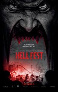 HELL FEST movie poster   ©2018 CBS Films/Lionsgate
