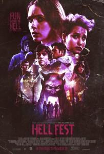HELL FEST retro movie poster   ©2018 CBS Films/Lionsgate