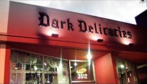 The Dark Delicacies building in Burbank, CA | photo courtesy Del Howison