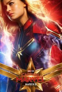 CAPTAIN MARVEL teaser poster | ©2019 Marvel Studios