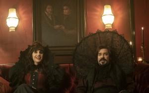 Natasia Demetriou as Nadja, Matt Berry as Laszlo in WHAT WE DO IN SHADOWS - Season 1  ©2019 FX/Byron Cohen