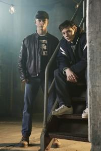 Jonathan Tucker as Frankie Ryan and Mark O'Brien as Jimmy Ryan in CITY ON A HILL - Season 1 | ©2018 Showtime/Eric Ogden