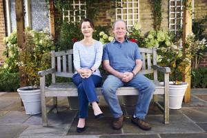 Lesley Manville and Peter Mullan in MUM | ©2019 Britbox