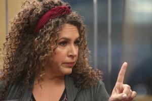 "Diana-Maria Riva as Griselda in SUNNYSIDE - Season 1 - ""Dr. Potato""| ©2019 NBC/Gilles Mingasson"