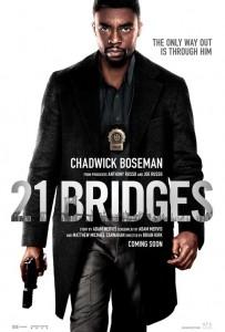 21 BRIDGES movie poster | ©2019 STX