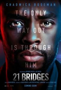 21 BRIDGES movie poster | ©2019 STX Entertainment