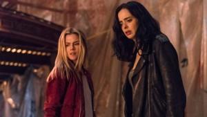 Rachael Taylor and Krysten Ritter in JESSICA JONES | ©2019 Netflix/Marvel