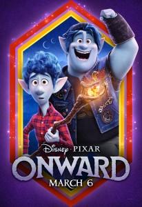 ONWARD Teaser Movie Poster | ©2020 Pixar/Walt Disney