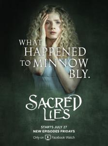 SACRED LIES - Season 1 - Key Art   ©2020 Facebook Watch/Blumhouse