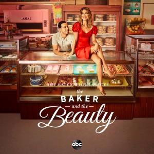 Victor Rasuk as Daniel Garcia and Nathalie Kelley as Noa Hamilton in THE BAKER AND THE BEAUTY Key Art | ©2020 ABC