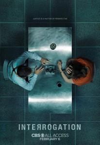 INTERROGATION - Season 1 Key Art   ©2019 CBS Interactive/James Dimmock