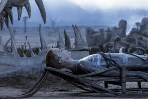 Amanda Collin in RAISED BY WOLVES - Season 1| ©2020 HBO/Coco Van Oppens