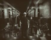 Eve Harlow, Aaron Clifton Moten, Michael Mosley, Jason Butler Harner, John Slattery, Fernanda Andrade, Evan Whitten, Elizabeth Cappuccino and Gerardo Celasco in NEXT - Season 1 | ©2020 Fox/Miller Mobley