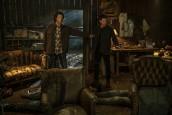 "Jared Padalecki as Sam and Jensen Ackles as Dean in SUPERNATURAL - Season 15 - ""Last Holiday"" | © 2020 The CW Network, LLC./Colin Bentley"
