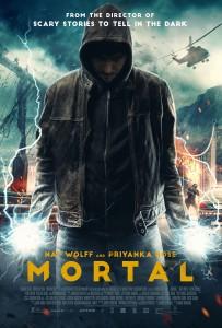 MORTAL movie poster | ©2020 Saban Films