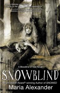 SNOWBLIND book cover | ©2020 Ghede Press