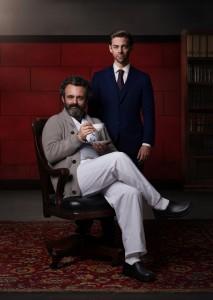 Michael Sheen and Tom Payne in PRODIGAL SON - Season 2 | ©2020 Fox/Mark Seliger