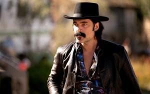 "Tim Rozon as Doc Holliday in WYNONNA EARP - Season 4 - ""Better Dig Two"" | ©2021 Syfy/Michelle Faye/Wynonna Earp Productions, Inc"