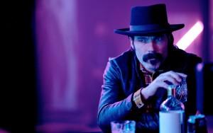 "Tim Rozon as Doc Holliday in WYNONNA EARP - Season 4 - ""Hell Raisin' Good Time"" | ©2021 Syfy/Michelle Faye/Wynonna Earp Productions, Inc"