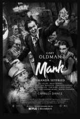 MANK movie poster | ©2021 Netflix