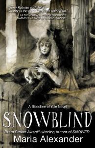 SNOWBLIND book cover | ©2021 Ghede Press