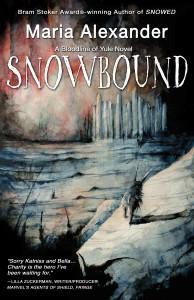 SNOWBOUND book cover | ©2021 Ghede Press