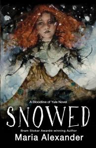 SNOWED book cover | ©2021 Ghede Press