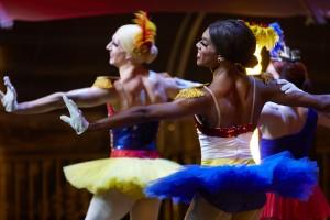 Duane Gosa and Josh Thake in AMERICAN MASTERS - BALLERINA BOYS | ©2021 PBS