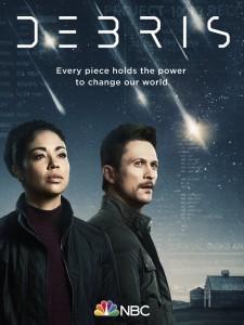 DEBRIS - Season 1 Key Art | ©2021 NBC