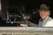 Cameraman Bob Poole in LIFE AT THE WATERHOLE   ©2021 PBS/Clare Jones
