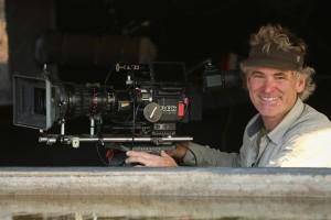 Cameraman Bob Poole in LIFE AT THE WATERHOLE | ©2021 PBS/Clare Jones