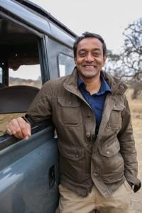 M. Sanjayan in LIFE AT THE WATERHOLE   ©2021 PBS/Clare Jones