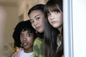 Nathanya Alexander in Chloe East, Nathanya Alexander, Lukita Maxwell in GENERATION - Season 1 | ©2021 HBO/Warrick Page