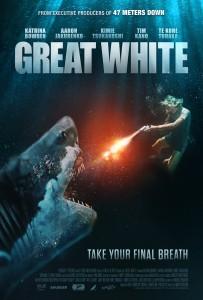 GREAT WHITE movie poster | ©2021 RLJE Films